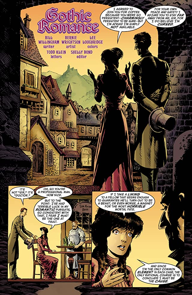 click for super-sized previews of House of Mystery (2008-2011) #9