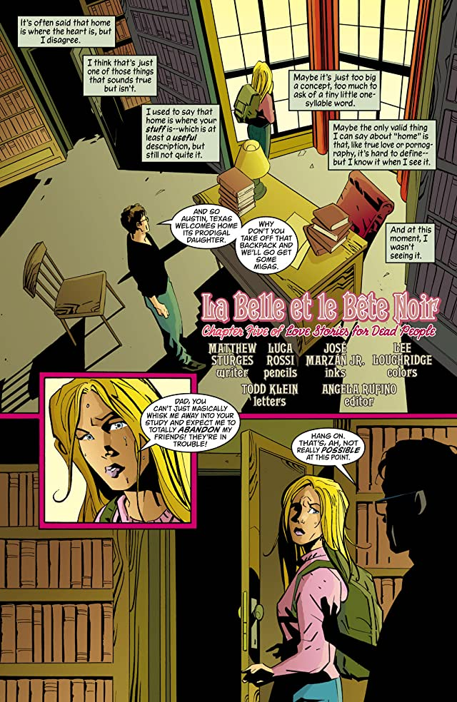 click for super-sized previews of House of Mystery (2008-2011) #10