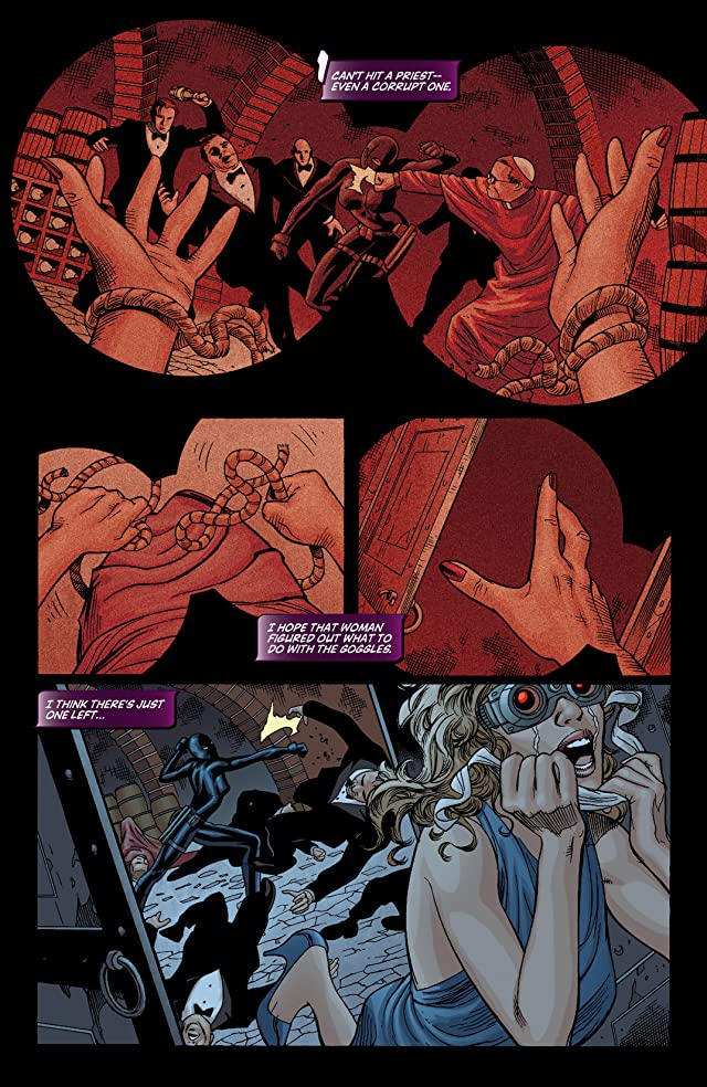 click for super-sized previews of Huntress: Year One #3