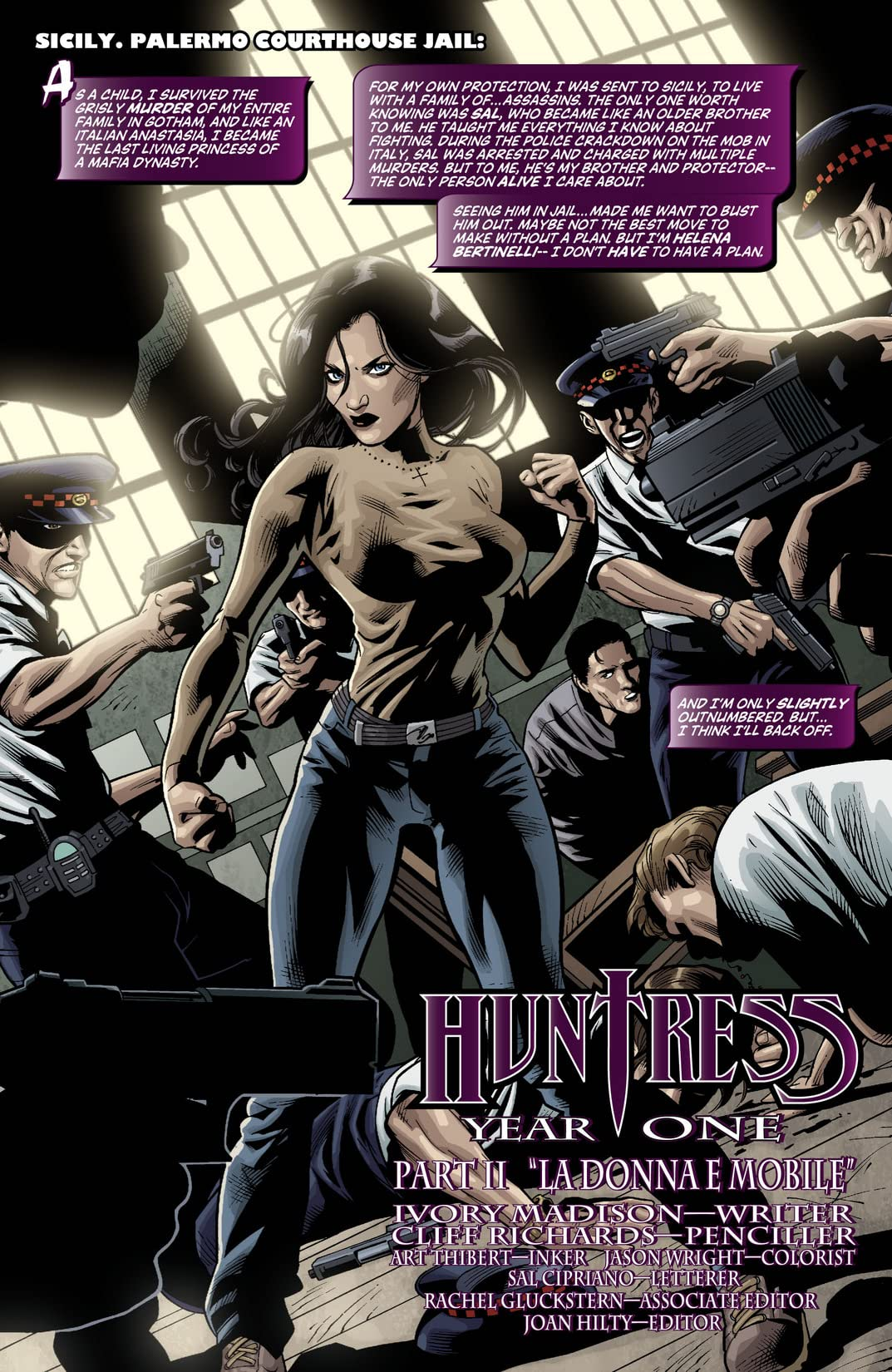 Huntress: Year One #2 (of 6)