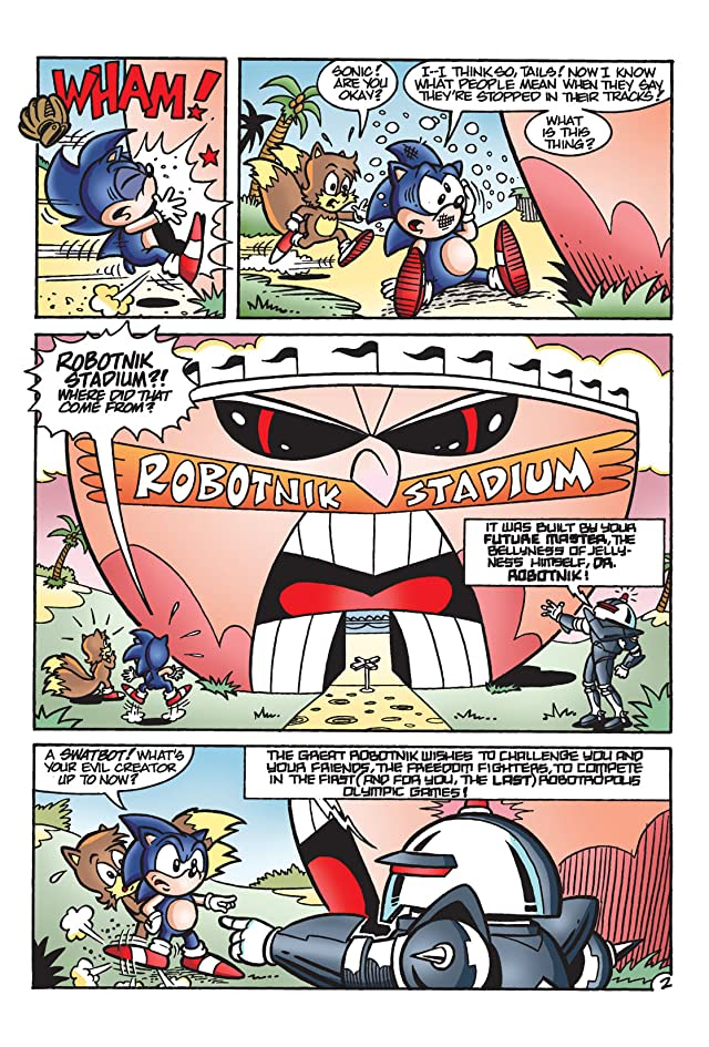 click for super-sized previews of Sonic the Hedgehog Archives Vol. 2