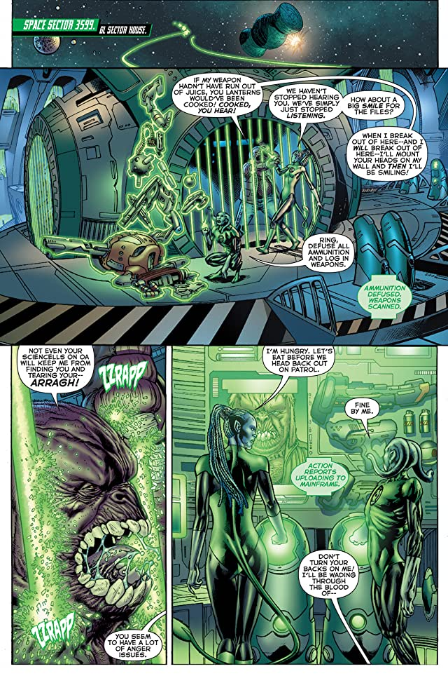 click for super-sized previews of Green Lantern Corps (2011-2015) #1