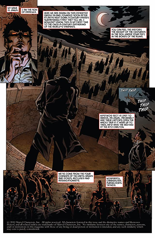 click for super-sized previews of Death of Dracula #1