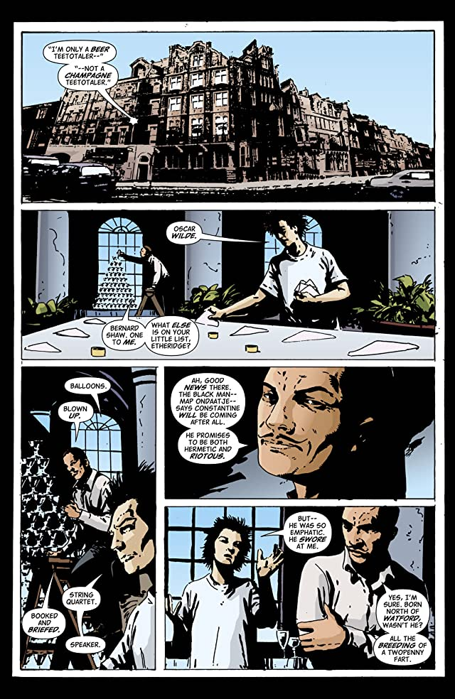 click for super-sized previews of Hellblazer #215