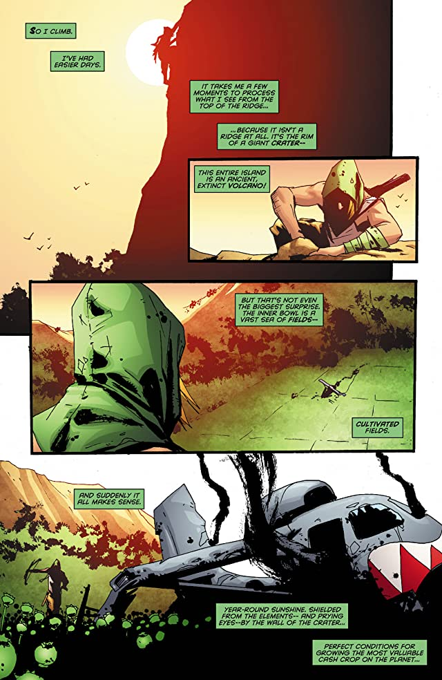 click for super-sized previews of Green Arrow: Year One #3