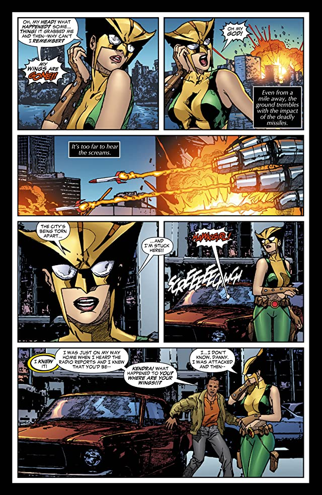 click for super-sized previews of Hawkgirl (2006-2007) #62