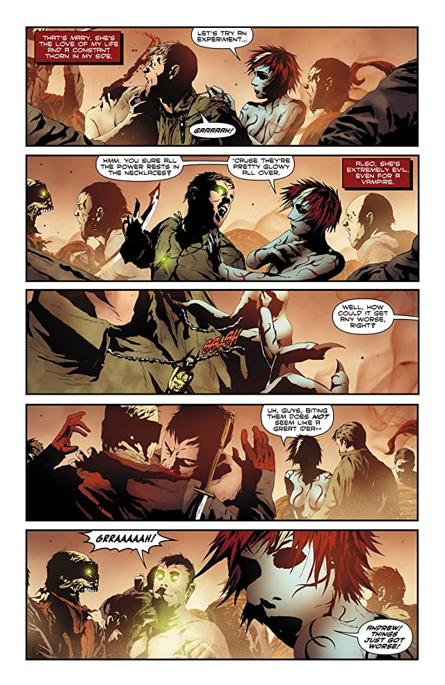 click for super-sized previews of I, Vampire (2011-2013) #11