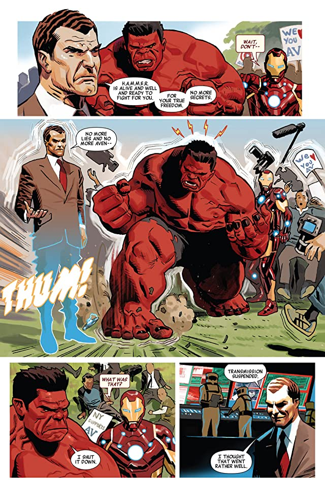 click for super-sized previews of Avengers (2010-2012) #20