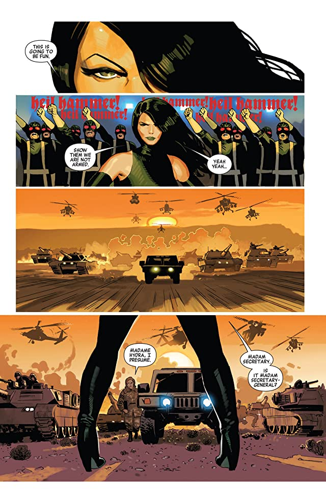 click for super-sized previews of Avengers (2010-2012) #23