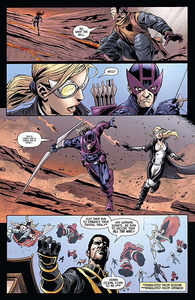 click for super-sized previews of Widowmaker #4