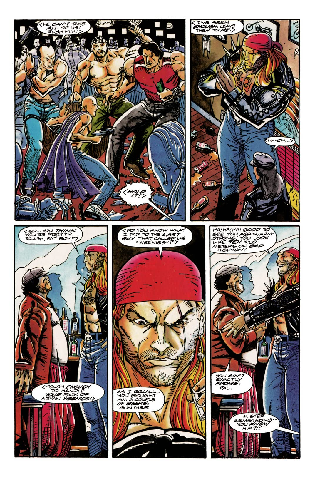 Archer & Armstrong (1992-1994) #9