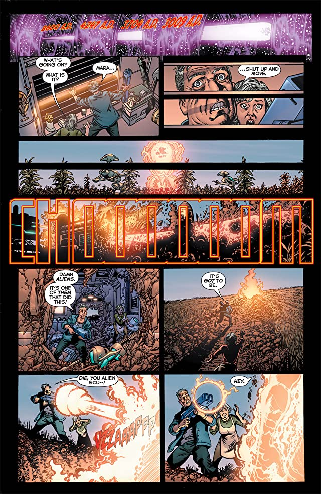 click for super-sized previews of Final Crisis: Legion of Three Worlds #1