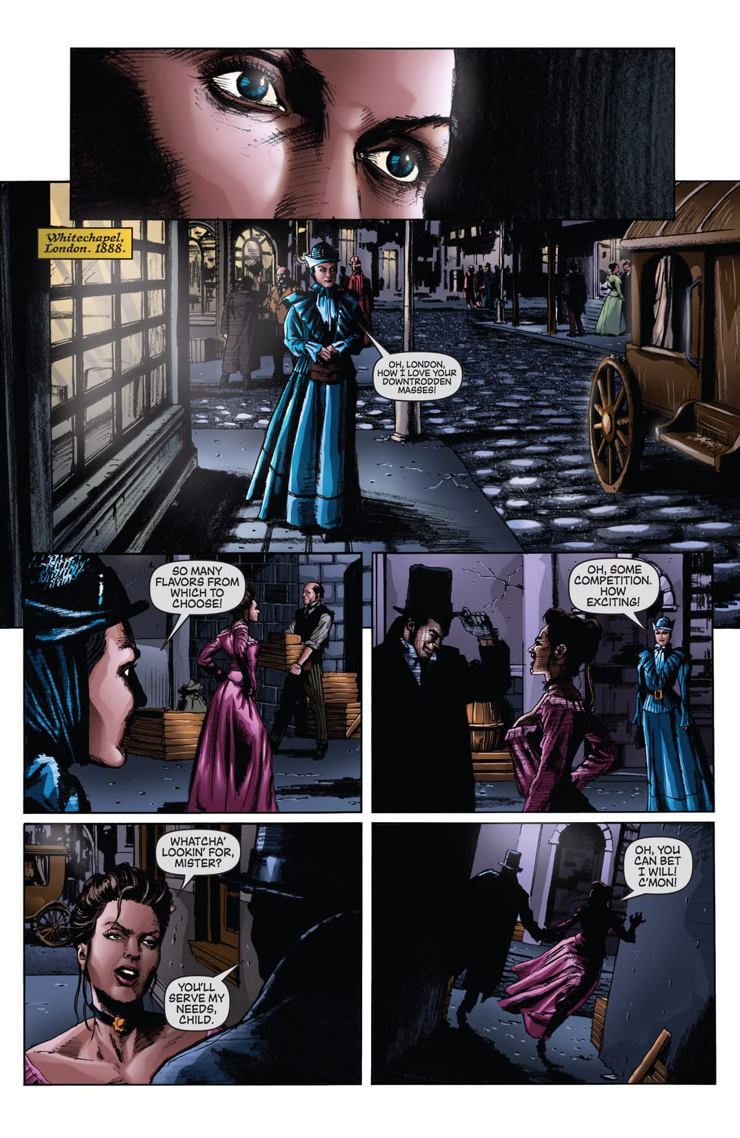 Dark Shadows/Vampirella #1