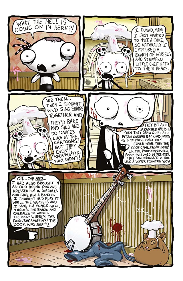 click for super-sized previews of Lenore Vol. 2 #6