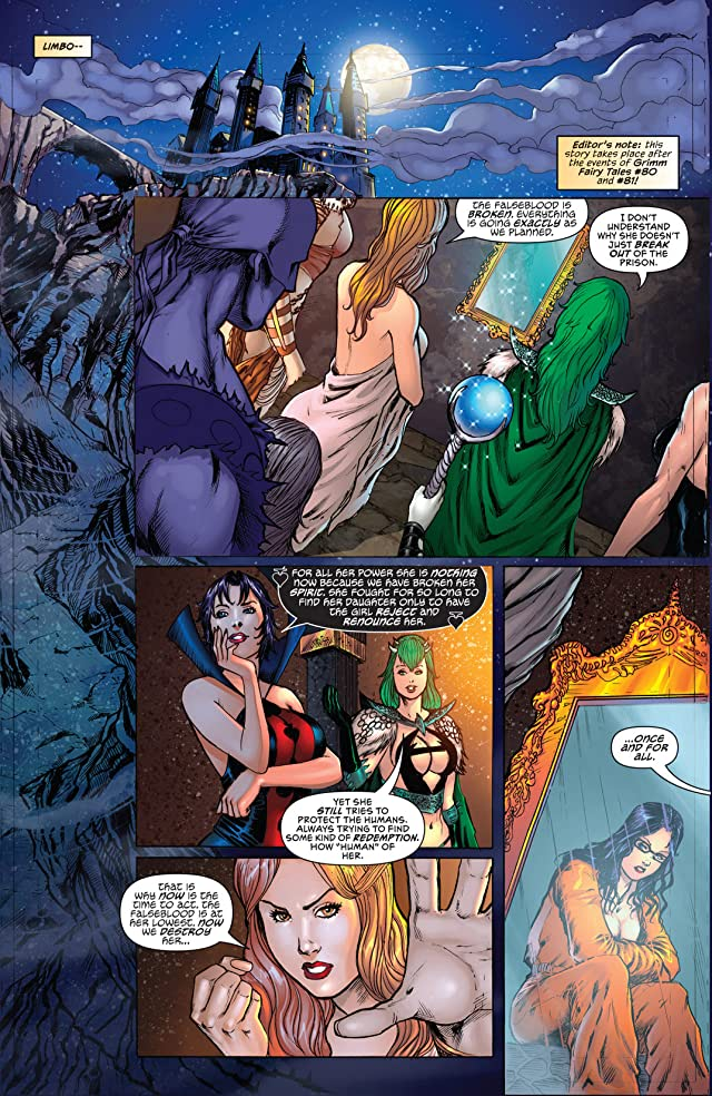 Grimm Fairy Tales: Bad Girls #1 (of 5)