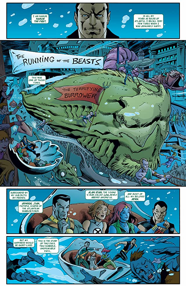 click for super-sized previews of Namor: The First Mutant #9