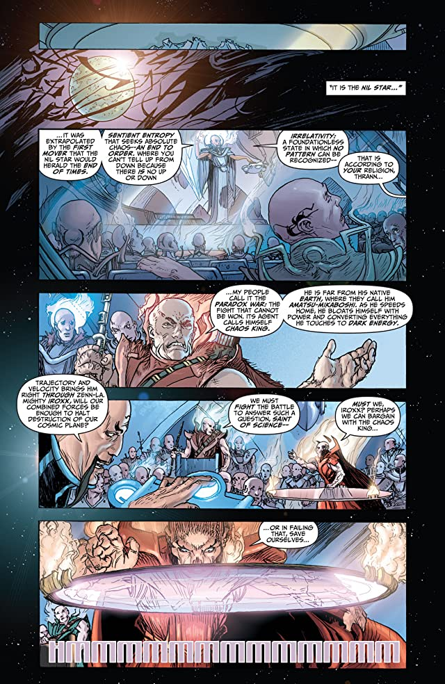 click for super-sized previews of Chaos War #1: Chaos King