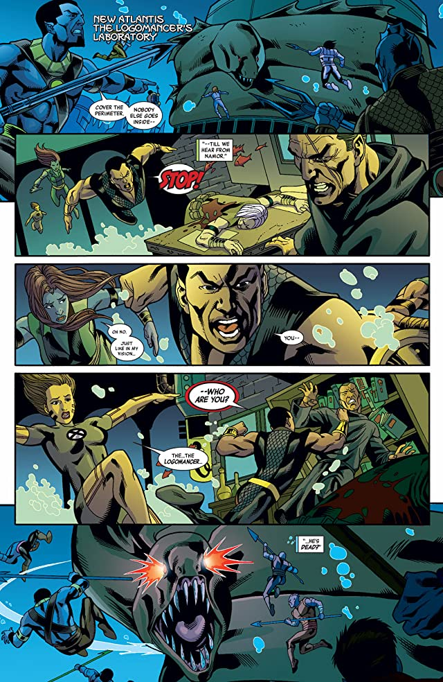 Namor: The First Mutant #10
