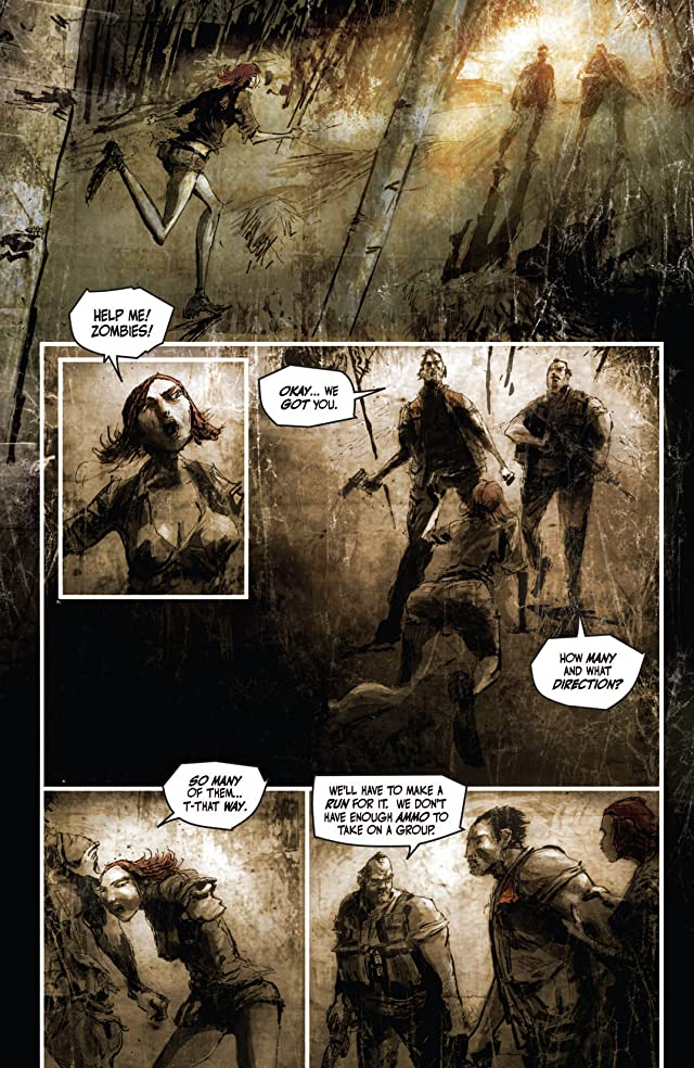 click for super-sized previews of Deadworld: War of the Dead #2