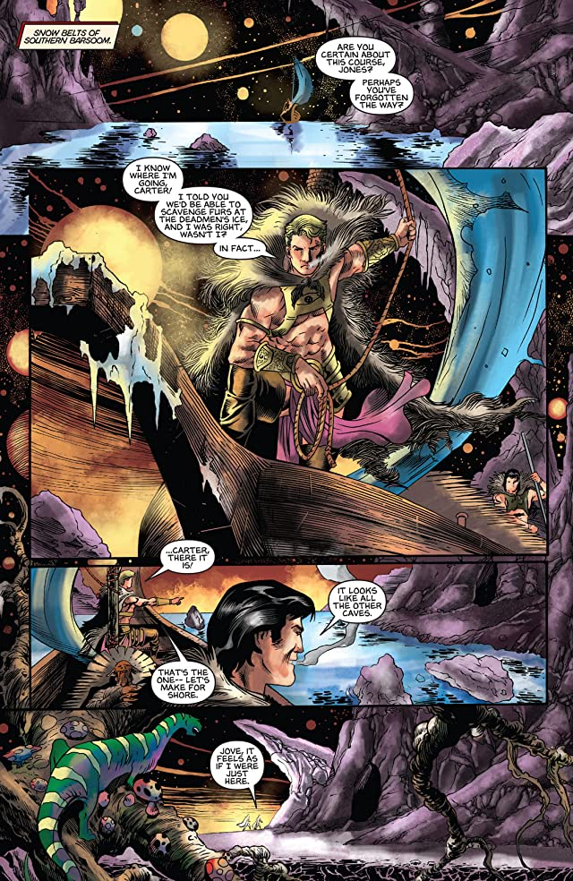 click for super-sized previews of Warriors of Mars #4