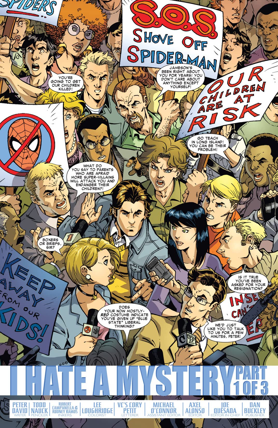 Friendly Neighborhood Spider-Man (2005-2007) #11