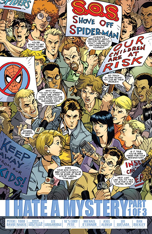 click for super-sized previews of Friendly Neighborhood Spider-Man (2005-2007) #11