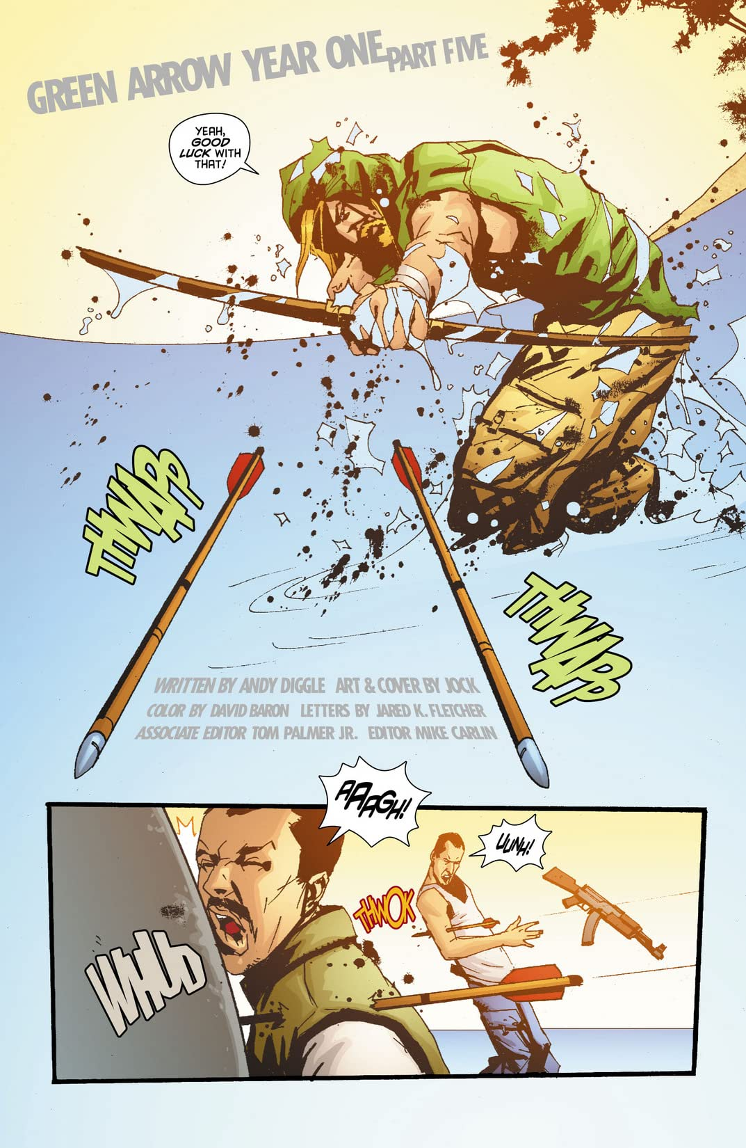 Green Arrow: Year One #5 (of 6)