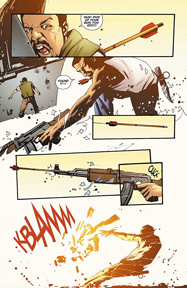 click for super-sized previews of Green Arrow: Year One #5