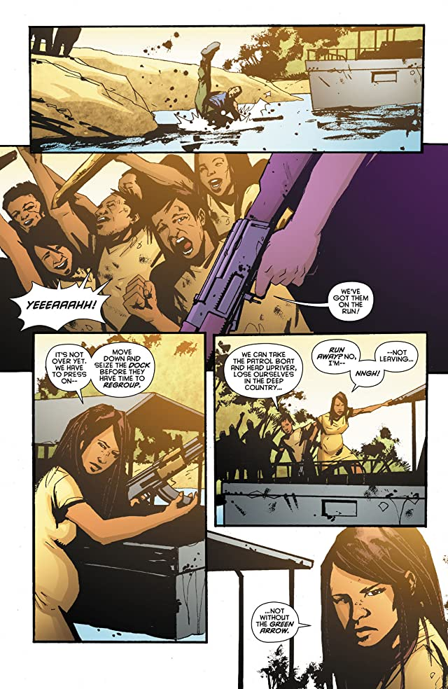 click for super-sized previews of Green Arrow: Year One #6