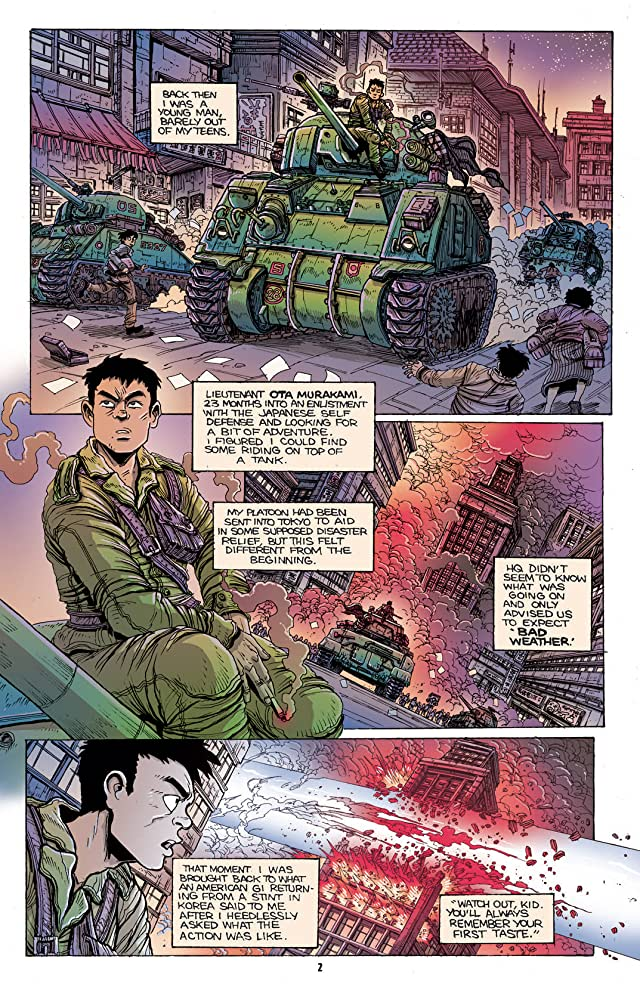 click for super-sized previews of Godzilla Half Century War #1
