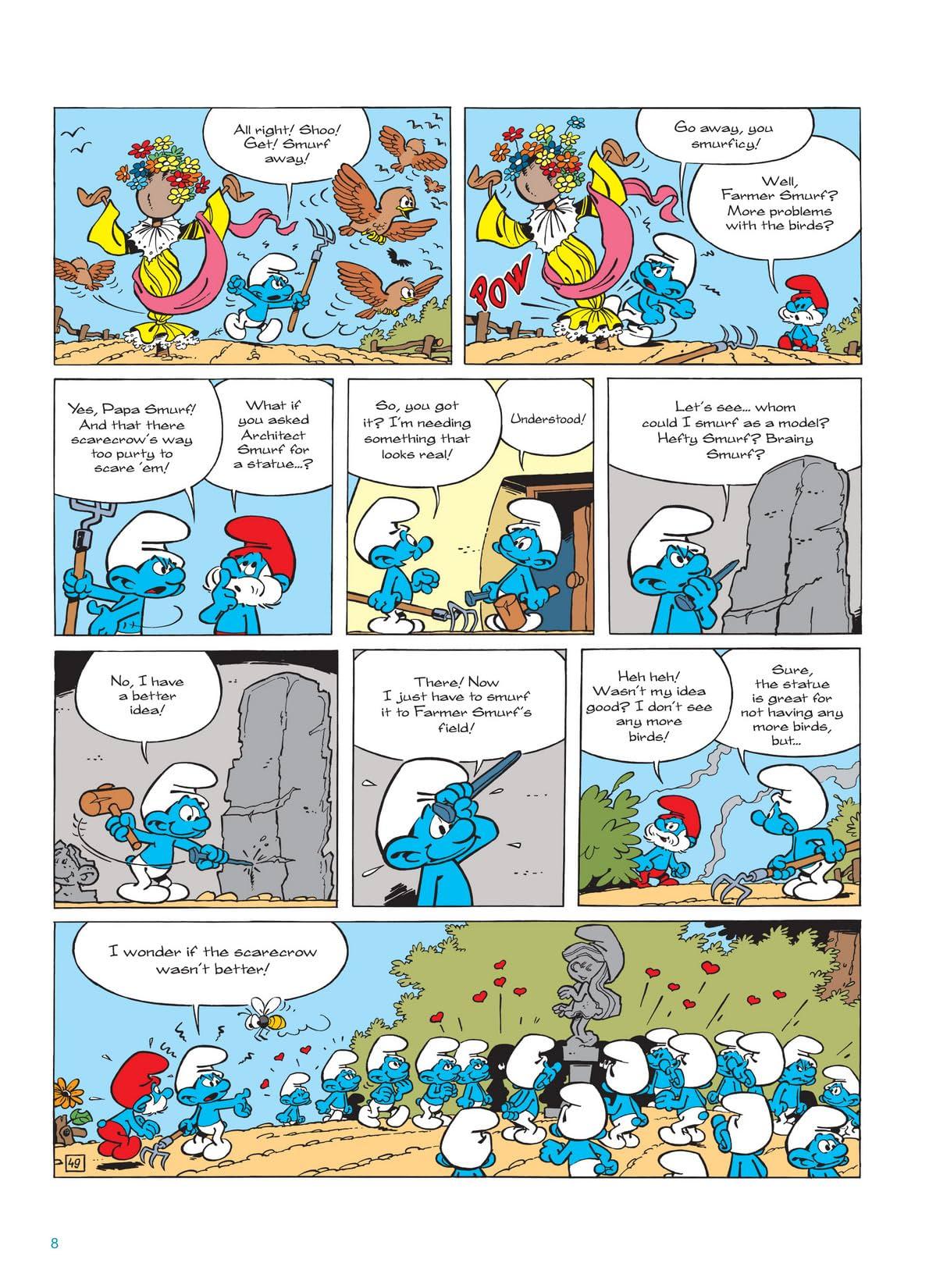 The Smurfs Vol. 10: Return of Smurfette