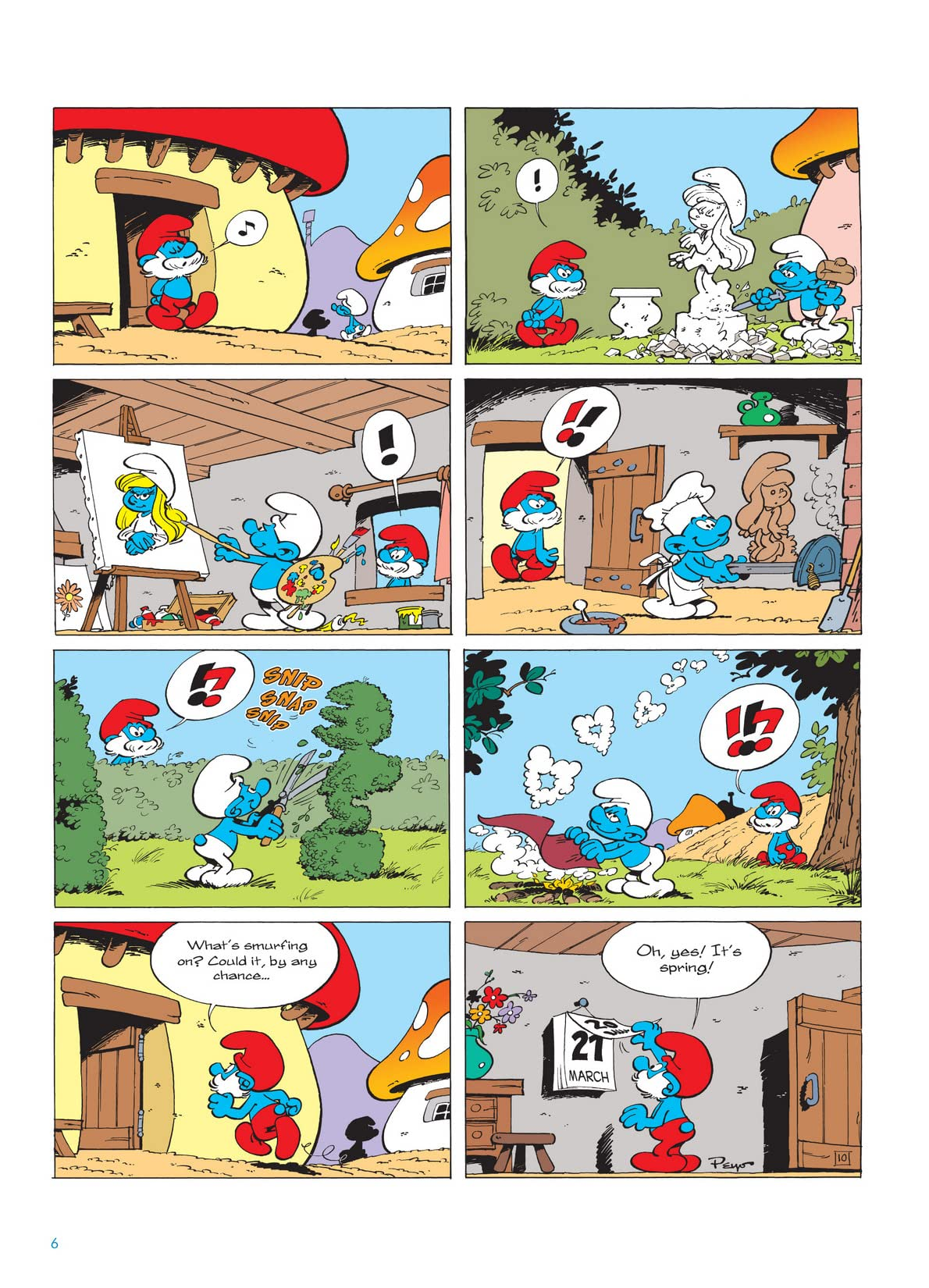 The Smurfs Vol. 10: Return of Smurfette Preview