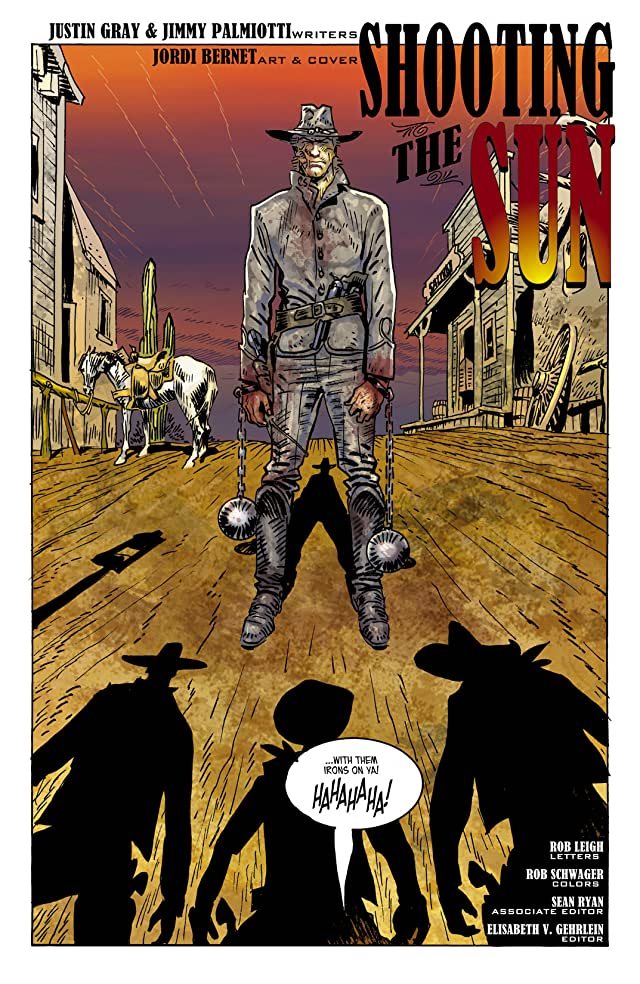 click for super-sized previews of Jonah Hex (2006-2011) #42