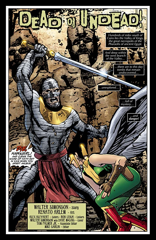 click for super-sized previews of Hawkgirl (2006-2007) #66