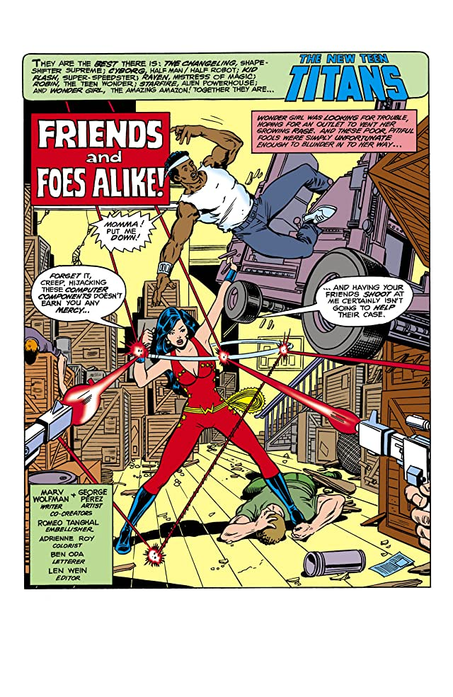 click for super-sized previews of New Teen Titans (1980-1988) #13