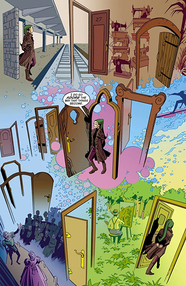 click for super-sized previews of House of Mystery (2008-2011) #12