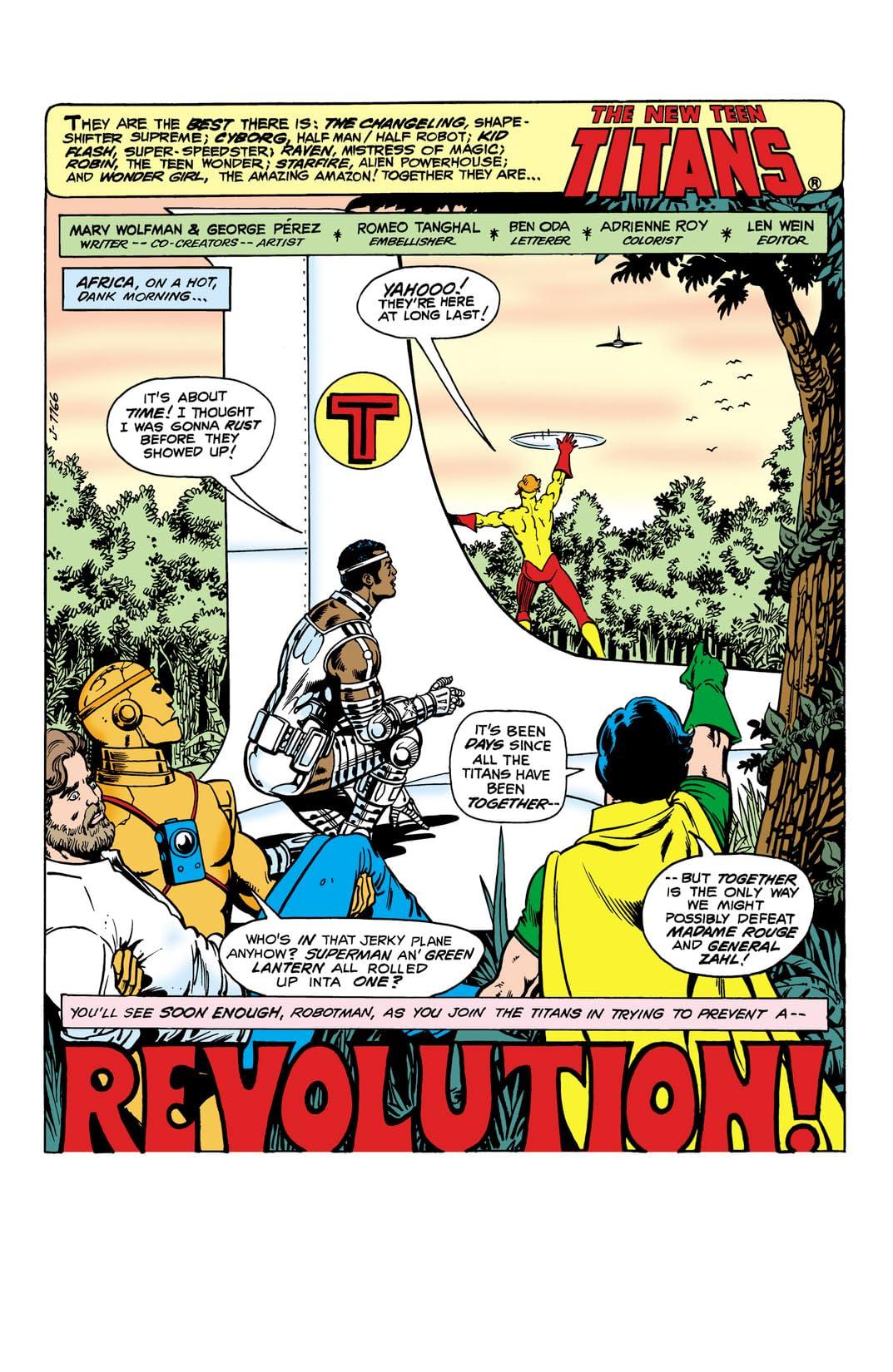 New Teen Titans (1980-1988) #14