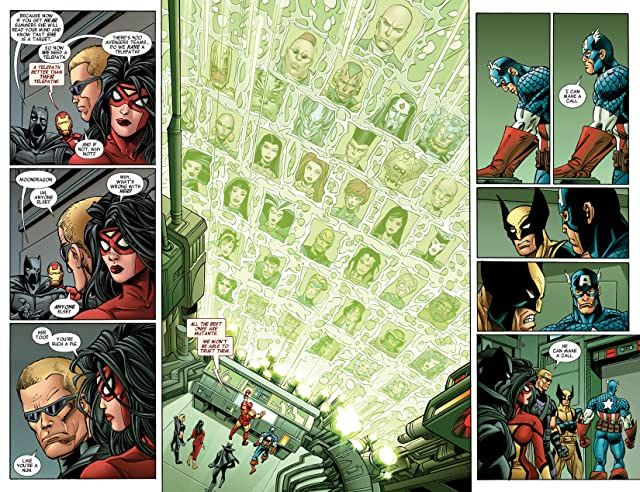 click for super-sized previews of Avengers (2010-2012) #29
