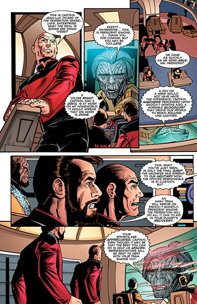click for super-sized previews of Star Trek 100 Page Spectacular Summer 2012