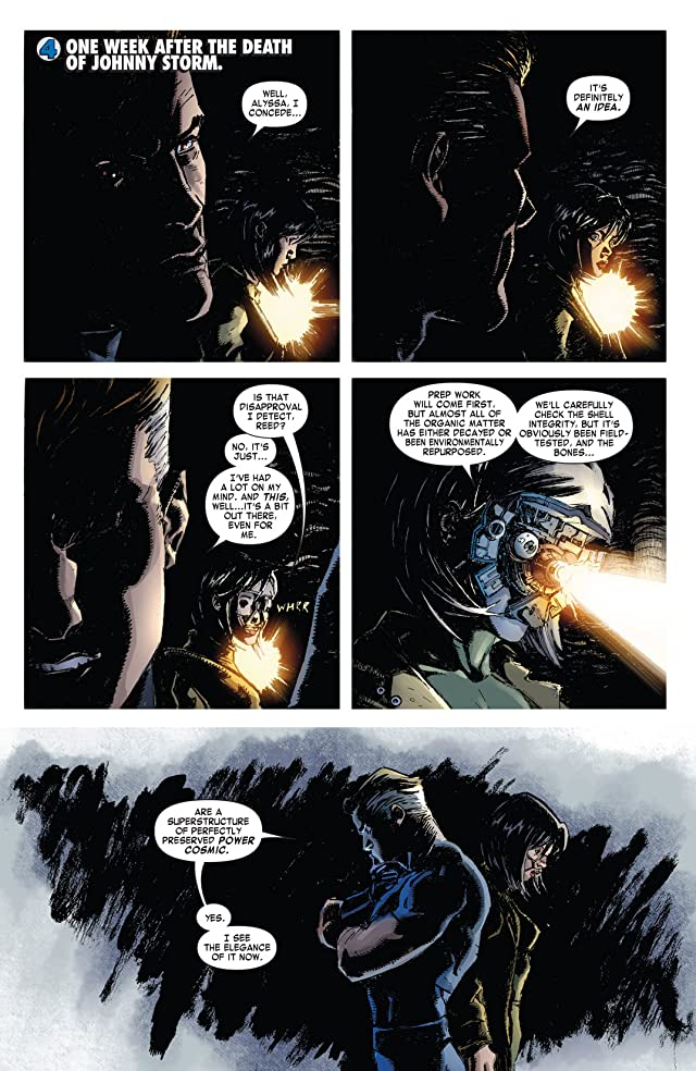 click for super-sized previews of Fantastic Four (1998-2012) #609