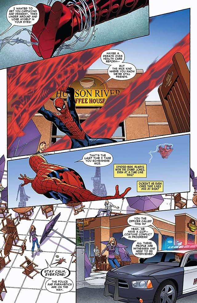 click for super-sized previews of Sensational Spider-Man (2006-2007) #33.1