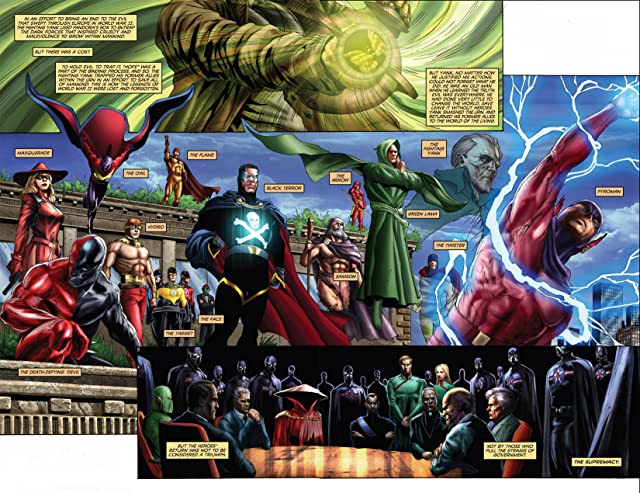 click for super-sized previews of Project Superpowers: Chapter Two #0