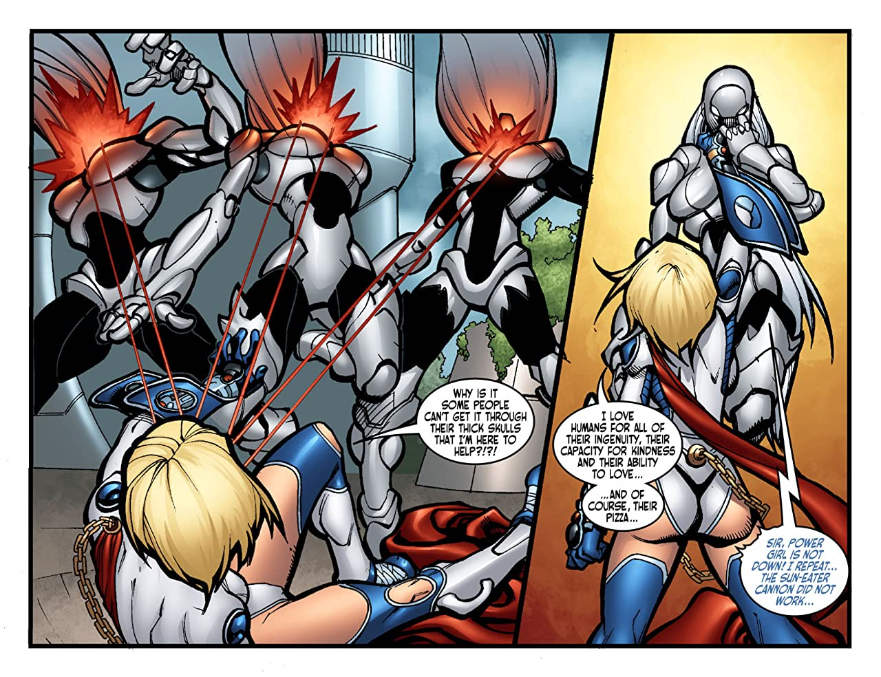 Ame-Comi IV: Power Girl #2