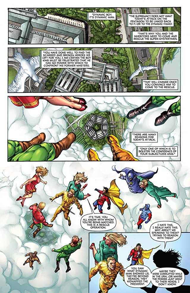 click for super-sized previews of Project Superpowers: Chapter Two #6