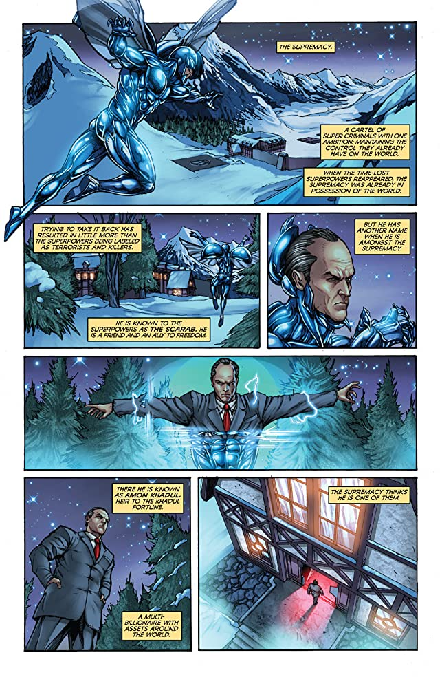 click for super-sized previews of Project Superpowers: Chapter Two #8