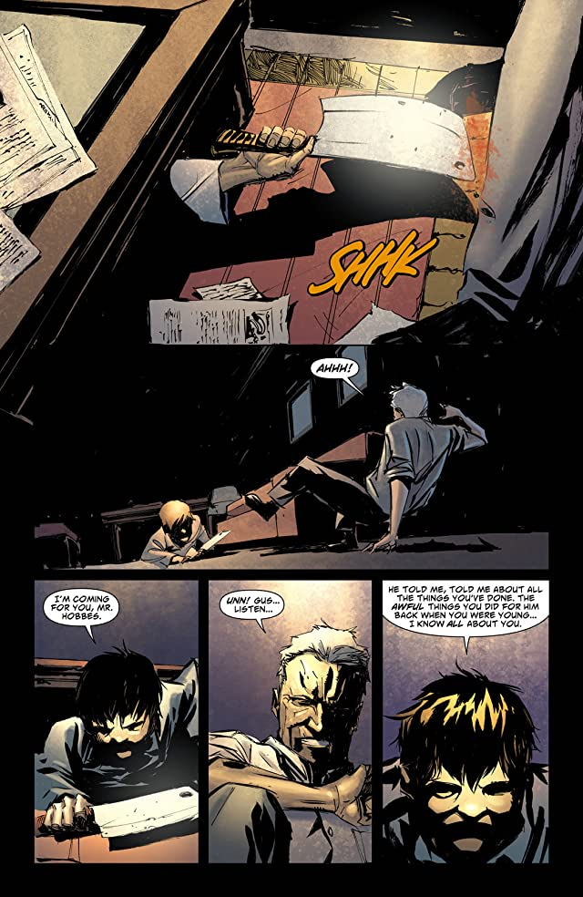 click for super-sized previews of American Vampire: Lord of Nightmares #3