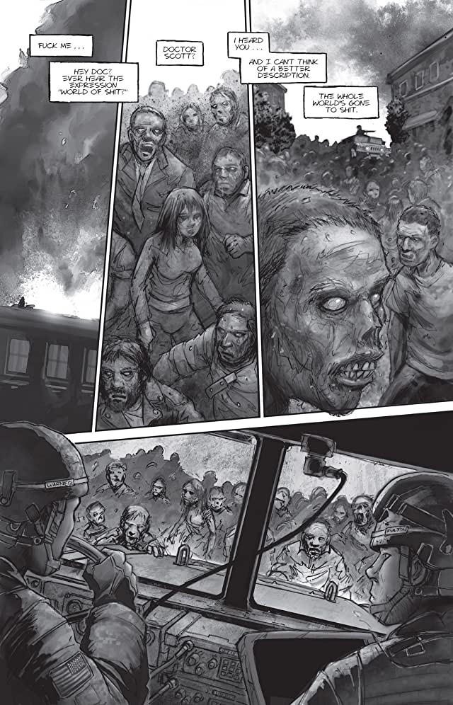 click for super-sized previews of The Last Zombie #1