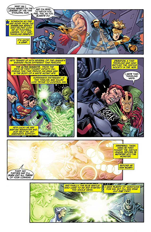 click for super-sized previews of Booster Gold (2007-2011) #10