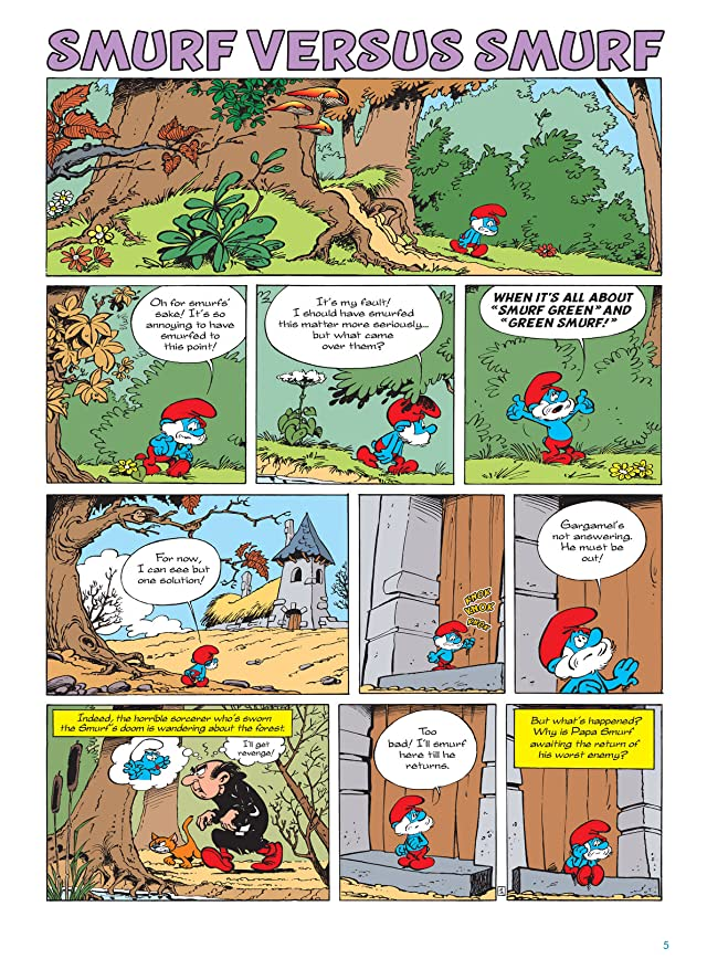 The Smurfs Vol. 12: Smurf Vs. Smurf