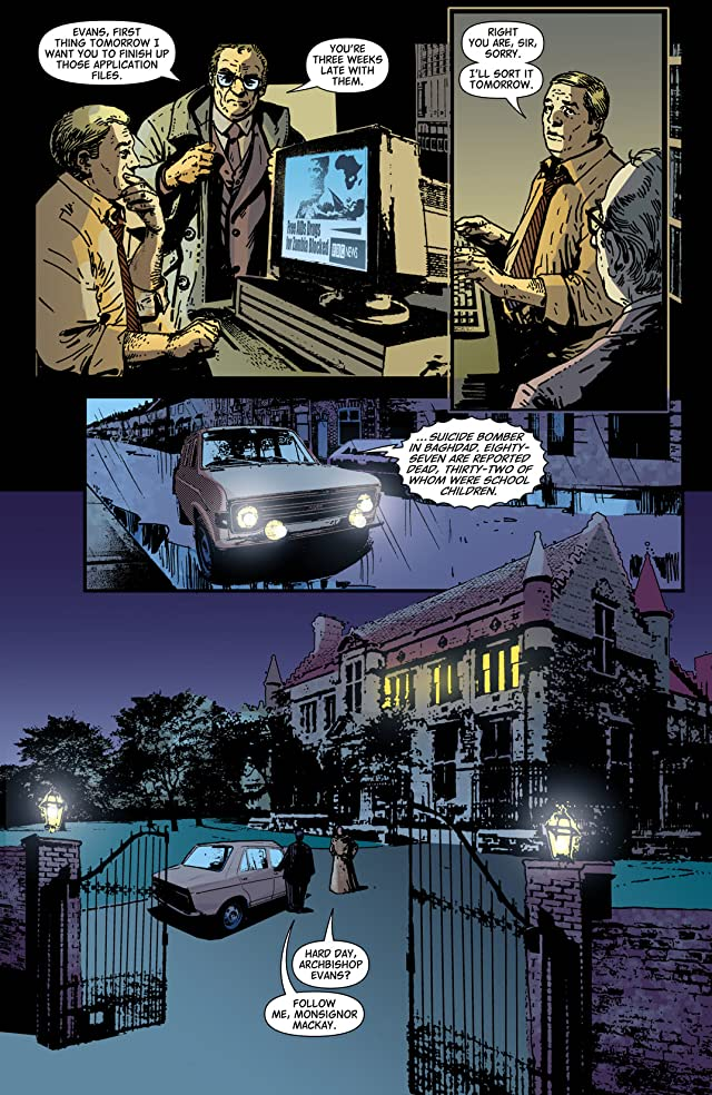 click for super-sized previews of Hellblazer #220